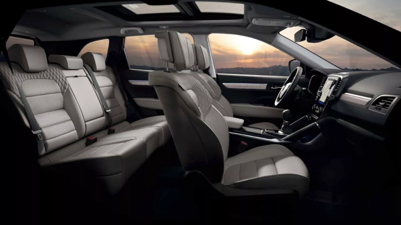 100 % komfortabler Fahrgastbereich